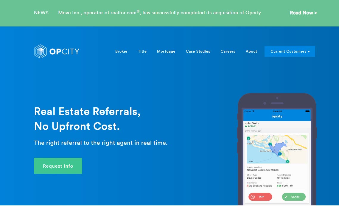 Compare Realtor com Opcity vs  Offerpad | HomeOpenly